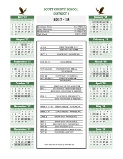Download 2018-19 Calendar